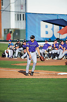 Reese Berberet (22) of the Grand Junction Rockies during the game against the Ogden Raptors at Lindquist Field on June 14, 2019 in Ogden, Utah. The Raptors defeated the Rockies 12-0. (Stephen Smith/Four Seam Images)