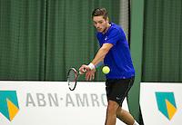 Januari 24, 2015, Rotterdam, ABNAMRO, Supermatch, Tim van Terheijden<br /> Photo: Tennisimages/Henk Koster