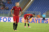 12th September 2017, Stadio Olimpic, Rome, Italy; UEFA Champions League between AS Roma versus Club Atletico de Madrid  Radja Naingglan looks on dejectedly as his team fail to get going in the game ; the game ended on a 0-0 draw