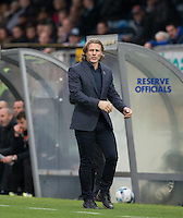 Wycombe Wanderers Manager Gareth Ainsworth during the Sky Bet League 2 match between Wycombe Wanderers and Barnet at Adams Park, High Wycombe, England on 22 October 2016. Photo by Andy Rowland.