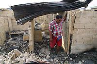 Baseco fire victim. Tondo, Manila. 12 January 2004