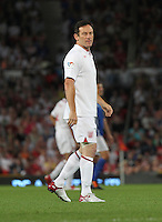 Manchester - Jason Isaacs at Soccer Aid 2012 in support of UNICEF UK held at Old Trafford stadium, Manchester, England - May 27th 2012...Photo by Kenny Disney