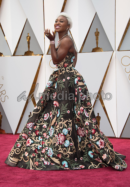 26 February 2017 - Hollywood, California - Cynthia Erivo. 89th Annual Academy Awards presented by the Academy of Motion Picture Arts and Sciences held at Hollywood & Highland Center. Photo Credit: AMPAS/AdMedia