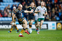 5th January 2020; Ricoh Arena, Coventry, West Midlands, England; English Premiership Rugby, Wasps versus Northampton Saints; Dan Robson of Wasps kicks the ball clear - Editorial Use