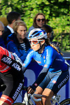 Letizia Paternoster (ITA) on the first circuit of Harrogate during the Women Elite Road Race of the UCI World Championships 2019 running 149.4km from Bradford to Harrogate, England. 28th September 2019.<br /> Picture: Andy Brady | Cyclefile<br /> <br /> All photos usage must carry mandatory copyright credit (© Cyclefile | Andy Brady)