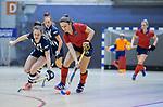 ROTTERDAM  - NK Zaalhockey . finale dames hoofdklasse: hdm-Laren 2-1. hdm landskampioen.  Klaartje de Bruijn (Lar)    COPYRIGHT KOEN SUYK