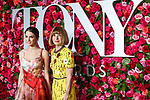 NEW YORK, NY - JUNE 10:   Bee Shaffer and Anna Wintour attend the 72nd Annual Tony Awards at Radio City Music Hall on June 10, 2018 in New York City.  (Photo by Walter McBride/WireImage)