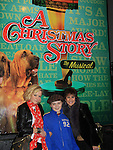 "Joe West, son of Maura West - As The World Turns' ""Carly"" and Young and Restless, makes his Broadway Debut as ""Ralphie"" in A Christmas Story The Musical and poses with his mom Maura and ATWT Colleen Zenk as they went to see the musical on November 20, 2012 at the Lunt-Fontaine Theatre, New York City, New York. Note photographer Sue saw the musical and thought Joe and the show was great.  (Photo by Sue Coflin/Max Photos)"