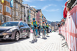 Kazakhstan Team training ride before the 2018 UCI Road World Championships, Innsbruck-Tirol, Austria 2018. 26th September 2018.<br /> Picture: Innsbruck-Tirol 2018 | Cyclefile<br /> <br /> <br /> All photos usage must carry mandatory copyright credit (&copy; Cyclefile | Innsbruck-Tirol 2018)