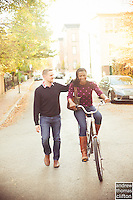 Engagement Portrait Session with Micah & Andrew with Andrew Thomas Clifton at North Avenue Beach and Navy Pier