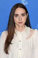 BERLIN, GERMANY - FEBRUARY 7: American actress Zoe Kazan attends the 69th Berlinale International Film Festival Berlin photocall for The Kindness Of Strangers at the Grand Hyatt Hotel on February 7, 2018 in Berlin, Germany.<br /> CAP/BEL<br /> &copy;BEL/Capital Pictures