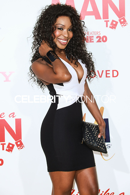 HOLLYWOOD, LOS ANGELES, CA, USA - JUNE 09: Porscha Coleman at the Los Angeles Premiere Of Screen Gems' 'Think Like A Man Too' held at the TCL Chinese Theatre on June 9, 2014 in Hollywood, Los Angeles, California, United States. (Photo by David Acosta/Celebrity Monitor)