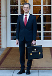 Spain's Minister of Science and Innovation Pedro Duque attends the first cabinet meeting of the new government. January 14,2020. (ALTERPHOTOS/Ander Beizama)