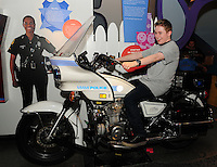 MIAMI, FL - JULY 28: Reed Alexander visits the opening of the 2012 Summer Olympics and MCM's newest exhibit, MiChiMu's Summer Games at Miami Childrens Museum on July 28, 2012 in Miami, Florida. (photo by: MPI10/MediaPunch Inc.) /NortePhoto.com<br />