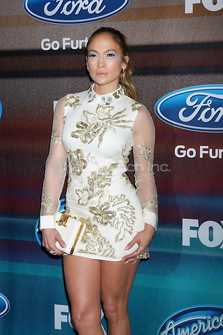 LOS ANGELES, CA - MARCH 11: Jennifer Lopez at Fox's 'American Idol XIV' Finalist Party at The District Restaurant on March 11, 2015 in Los Angeles, California. Credit: David Edwards/DailyCeleb/MediaPunch