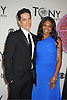 Audra McDonald and Will Swenson  attends th 66th Annual Tony Awards on June 10, 2012 at The Beacon Theatre in New York City.