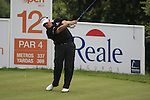 Colin Montgomerie (SCO) in action on the 12th tee during Day 3 of the Open de Espana at Real Club De Golf El Prat, Terrasa, Barcelona, 7th May 2011. (Photo Eoin Clarke/Golffile 2011)