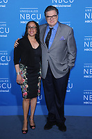 www.acepixs.com<br /> May 15, 2017  New York City<br /> <br /> S Epatha Merkerson and Oliver Platt attending the 2017 NBCUniversal Upfront at Radio City Music Hall on May 15, 2017 in New York City.<br /> <br /> Credit: Kristin Callahan/ACE Pictures<br /> <br /> <br /> Tel: 646 769 0430<br /> Email: info@acepixs.com