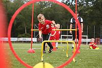 18.08.2015: Fußballschule bei Rot-Weiss Walldorf