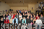 SURPRISE: A surprise for Nettie Dowling, 12 Stack Villas, Tralee as she arrived at Austin Stack GAA Club, on Friday night as her family and friends put on a 70th Birthday party for her. (nettie is seated 5th from left)............ ....