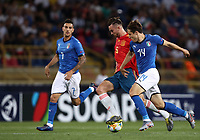 Football: Uefa European under 21 Championship 2019, Italy - Spain Renato Dall'Ara stadium Bologna Italy on June16, 2019.<br /> Spain's Fabian Ruiz (l) in action with Italy's Federico Chiesa (r) during the Uefa European under 21 Championship 2019 football match between Italy and Spain at Renato Dall'Ara stadium in Bologna, Italy on June16, 2019.<br /> UPDATE IMAGES PRESS/Isabella Bonotto