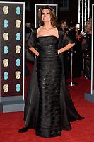 Isabella Kristensen arriving for the BAFTA Film Awards 2018 at the Royal Albert Hall, London, UK. <br /> 18 February  2018<br /> Picture: Steve Vas/Featureflash/SilverHub 0208 004 5359 sales@silverhubmedia.com