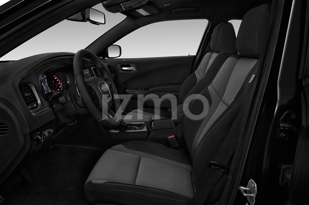 Front seat view of a 2018 Dodge Charger R/T 4 Door Sedan front seat car photos