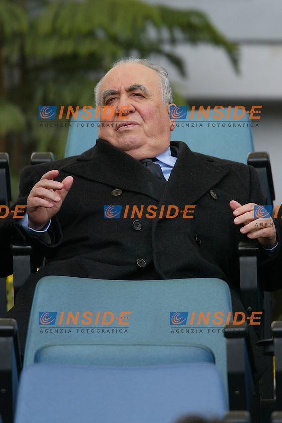Roma 28/3/2004 Campionato Italiano Serie A  <br /> 27ma Giornata - Matchday 27 <br /> Il presidente della Roma Franco Sensi<br /> Foto Andrea Staccioli Insidefoto
