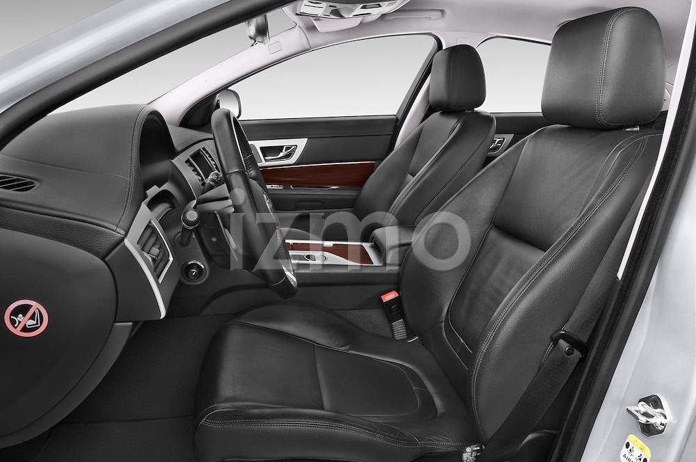 Front seat view of a 2015 Jaguar XF 2.2D 163 auto 4 Door Sedan 2WD Front Seat car photos
