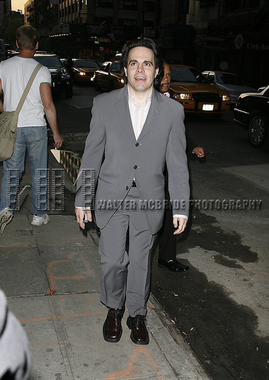 Mario Cantone attending the Opening Night performance of the Roundabout Theatre Company's Broadway production of THE THREEPENNY OPERA at Studio 54 in New York City..April 20, 2006 .© Walter McBride/WM Photography