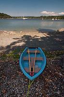 Rowboat at Garrison Bay, San Juan Island, Washington, US