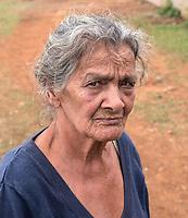 Grandmother on tobacco farm, Viñales