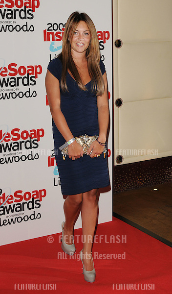 Lacey Turner at the Inside Soap Awards .at Sketch in London. 28/09/ 2009.Picture By: Gerry Copper / Featureflash..