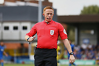 Referee Alan Young during AFC Wimbledon vs Wycombe Wanderers, Sky Bet EFL League 1 Football at the Cherry Red Records Stadium on 31st August 2019