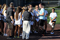 Piscataway, NJ - Friday August 4, 2017: Pre-game activities before a regular season National Women's Soccer League (NWSL) match between Sky Blue FC and the Washington Spirit at Yurcak Field.  Sky Blue took the early lead, but gave up four second half goals to drop a 4-1 decision to Washington.