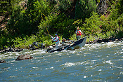Fishermen & Women floating the Upper Colorado River fishing between Rancho Del Rio and State Bridge on August 8, 2014.