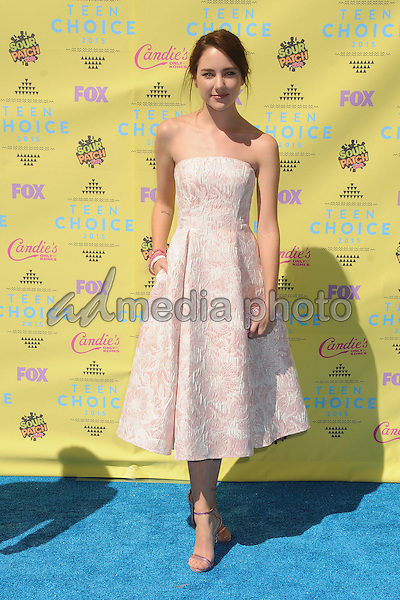 16 August 2015 - Los Angeles, California - Haley Ramm. Teen Choice Awards 2015 - Arrivals held at the USC Galen Center. Photo Credit: Byron Purvis/AdMedia