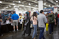 NEW YORK, USA - October 3: A general view of the Artist Alley during the Comic Convention on October 3, 2019 in New York, USA.<br /> The 2019 New York Comic-Con at the Jacob K. Javits Convention Center Day 1 with the latest in superhero movies, sci-fi shows, animation, video games, comic book releases available to attendees.<br /> (Photo by Luis Boza/VIEWpress/Corbis via Getty Images)