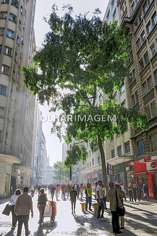 Rua Barao de Itapetininga em Sao Paulo. 2017. Foto © Juca Martins.
