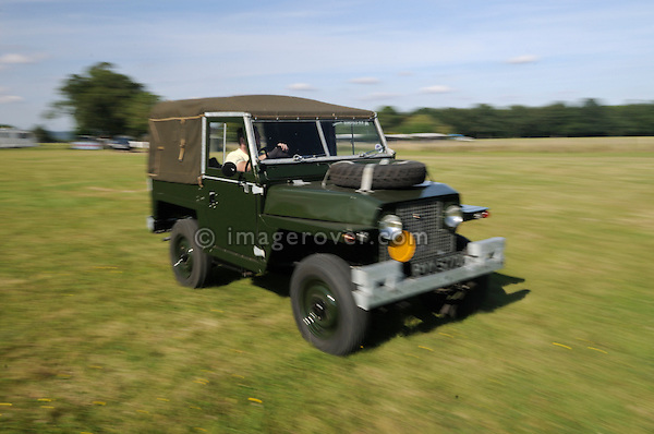 "The oldest surviving Land Rover Series 2 ""Lightweight"" 1/2 ton pre production from around 1966. Dunsfold Collection of Land Rovers Open Day 2011, Dunsfold, Surrey, UK. --- No releases available, but releases may not be necessary for certain uses. Automotive trademarks are the property of the trademark holder, authorization may be needed for some uses."