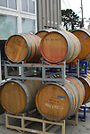 Wine barrels in Santa Cruz