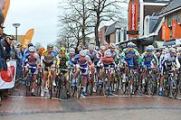 WIELRENNEN: SURHUISTERVEEN: 02-01-2014, Centrumcross, ©foto Martin de Jong