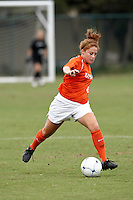 SAN ANTONIO , TX - SEPTEMBER 11, 2009: The Utah State University Aggies vs. The University of Texas At San Antonio Roadrunners Women's Soccer at the UTSA Soccer Field. (Photo by Jeff Huehn)