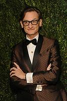 NEW YORK, NY - NOVEMBER 6: Hamish Bowles at the 14th Annual CFDA Vogue Fashion Fund Gala at Weylin in Brooklyn, New York City on November 6, 2017. <br /> CAP/MPI/JP<br /> &copy;JP/MPI/Capital Pictures