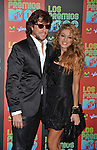 UNIVERSAL CITY, CA. - October 15: Nicolas Colate and singer Paulina Rubio  attend Los Premios MTV 2009 Latin America Awards held at the Gibson Amphitheatre on October 15, 2009 in Universal City, California.