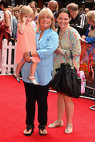 "Linda Robson arriving for the premiere of ""Pudsey the Dog the movie"" at the Vue cinema, Leicester Square, London. 13/07/2014 Picture by: Steve Vas / Featureflash"