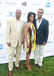 William C. Rhoden of The New York Times, Andrea and Maurice DuBois Attend The Fourth Annual Reginald F. Lewis Foundation Gala Luncheon Held at The Reginald F. Lewis Estate, East Hampton New York,  6/25/11