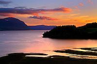Humber River at dusk<br /> Near York Harbour<br /> Newfoundland &amp; Labrador<br /> Canada