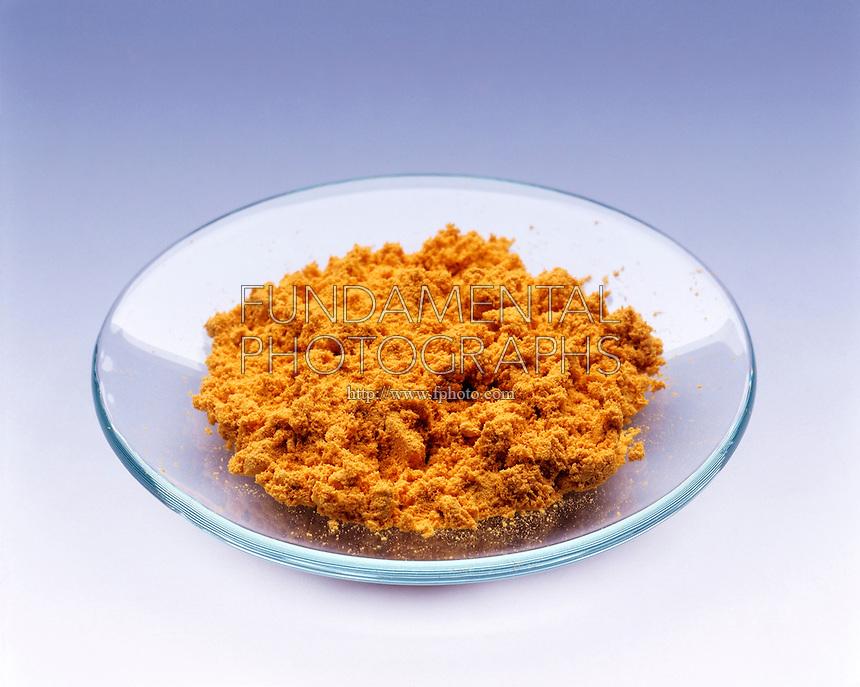 PENTAAMINENITROCOBALT III CHLORIDE<br /> Nitro isomer<br /> [Co(NH3)5(NO2)]Cl2  Dark yellow crystals.