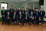 Stamullen Cub Scouts at their Investiture in the village. Photo:Colin Bell/pressphotos.ie